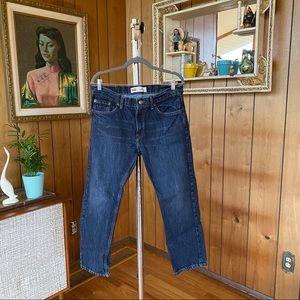 Levi's Dark Wash 505 Straight Denim Jeans